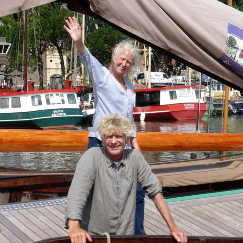 Yteke Hiddema and Remco Timmermans bought Sailing Ship De Vriendschap in 2010.